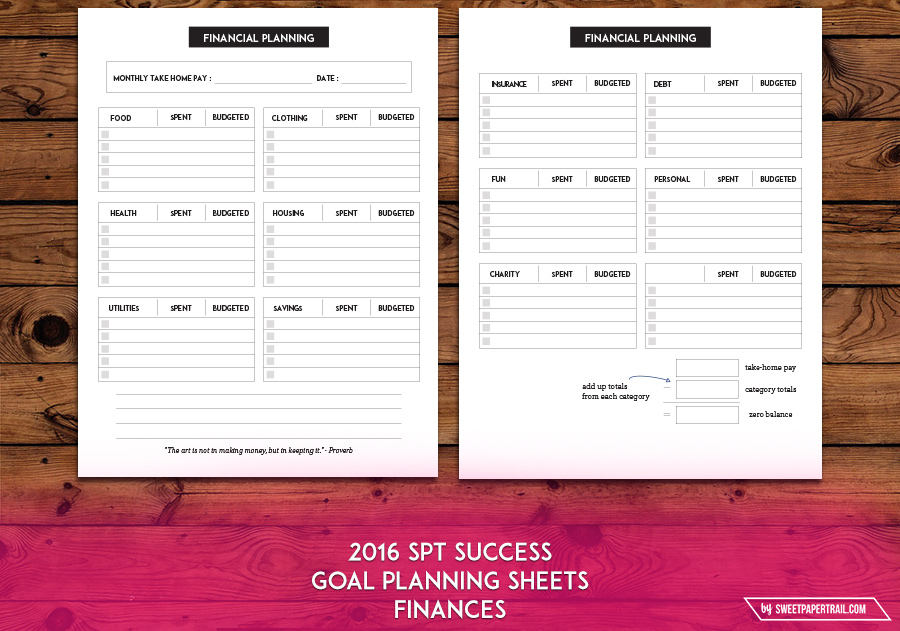 personal financial planning worksheet This category is a great place to find a financial planning worksheet or financial planning spreadsheet designs.