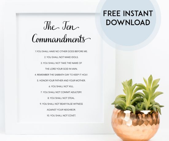 Ten Commandments download