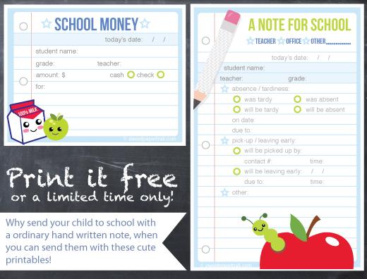 free school printable