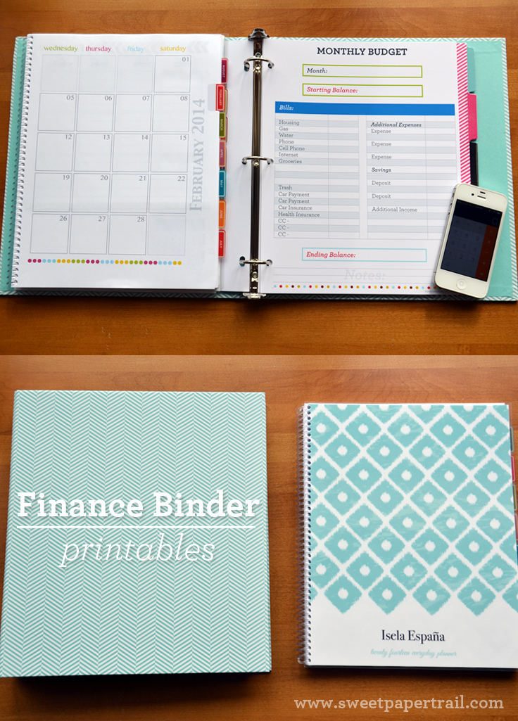 Our Finance Binder | Money saving ideas | Financial binder ...