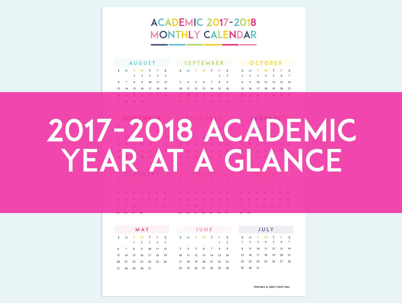 Academic Calendar Planner Refill : Academic planner calendar refills sweet